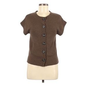 Michael Stars Cashmere Blend Brown Sweater Top